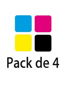 Pack Toner HP CLJ 2550