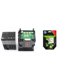 CR324A Tête d'impression + Cartouches HP OfficeJet Pro 251/86xx/8100/276