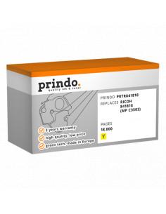 Toner Compatible Jaune pour Ricoh Aficio MP C3003 - 18000 pages référence 841818