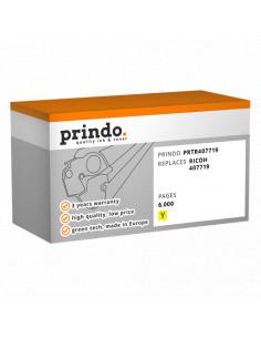 Toner Compatible Jaune pour Ricoh Aficio SP C252DN - 6000 pages référence 407719