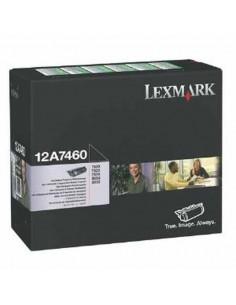 12A7460 - Toner Noir original Lexmark - 5000 pages