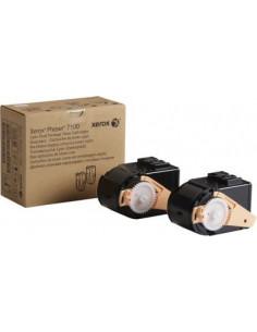 106R02602 - Pack de 2 - Toner cyan Original XEROX 7100 - 2 x 4 500 pages