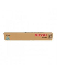 842033 - Toner Cyan Original pour Ricoh Aficio MP C2000, C2500, C3000