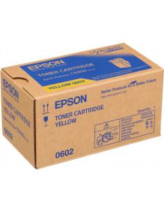 C13S050602 - Toner original Epson C13S050602 Jaune 7500 pages
