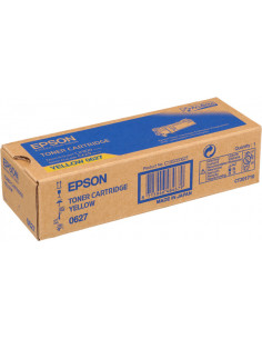 C13S050627 - Toner original Epson C13S050627 Jaune 2500 pages