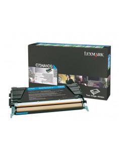 C734A1CG - Toner Cyan original Lexmark - 6000 pages