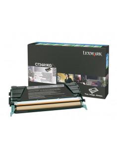 C734A1KG - Toner Noir original Lexmark - 8000 pages