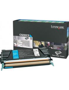 C5220CS - Toner Cyan original Lexmark - 3000 pages