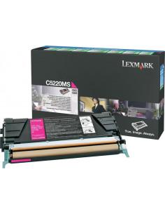 C5220MS - Toner Magenta original Lexmark - 3000 pages