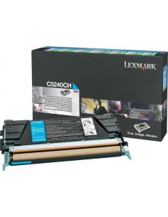 C5240CH - Toner Cyan original Lexmark - 5000 pages