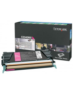 C5340MX - Toner Magenta original Lexmark - 7000 pages
