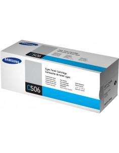 CLT-C506L - Toner original Samsung SU038A cyan 3500 pages