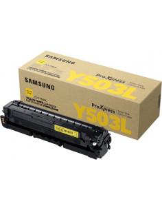 CLT-Y503L - Toner original Samsung SU491A jaune 5000 pages