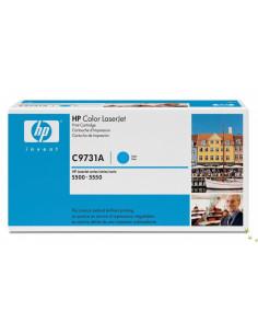 HP 645A - C9731A - Toner HP - 1 x cyan - 12000 pages pour HP CLJ 5550