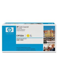 HP 645A - C9732A - Toner HP - 1 x jaune - 12000 pages pour HP CLJ 5550