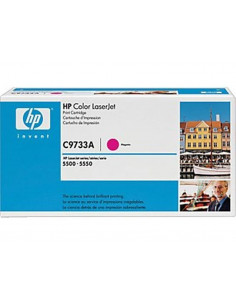 HP 645A - C9733A - Toner HP - 1 x magenta - 12000 pages pour HP CLJ 5550