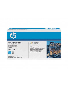 HP 648A - CE261A - Toner HP - 1 x cyan - 11000 pages