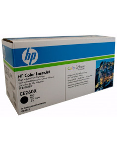 HP 649X - CE260X - Toner HP - 1 x noir - 17500 pages