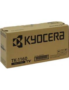 TK-1160 - Toner original KYOCERA 1T02BX0EU54 noir 7200 pages