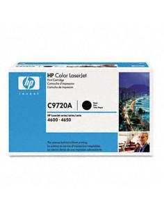 Toner HP C9720A - 1 x noir - 9000 pages