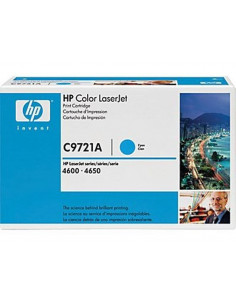 Toner HP C9721A - 1 x cyan - jaune - magenta - 8000 pages