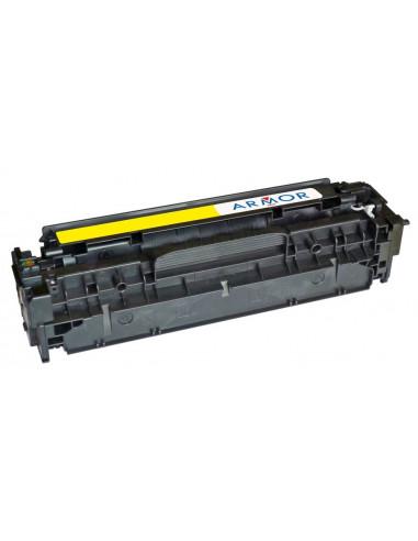 Toner Jaune OWA par Armor, pour Imprimante CANON I-SENSYS LBP-7210 CDN