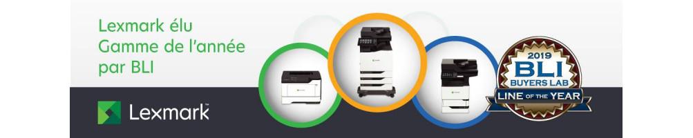 Découvrez les nouvelles imprimantes Lexmark série M et MB